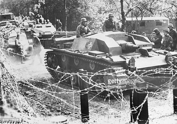 Nazi Blitzkrieg Smashes Through Belgium 1940