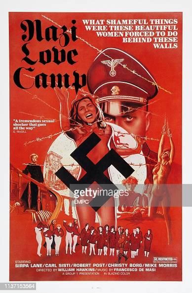 Nazi Love Camp, poster, , US poster art, 1977. Nachrichtenfoto ...