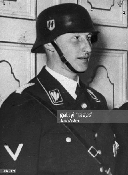 Nazi politician Reinhard Heydrich deputy-chief of the Gestapo. As deputy-protector of Bohemia under the Nazi regime, he was assassinated by Czech...