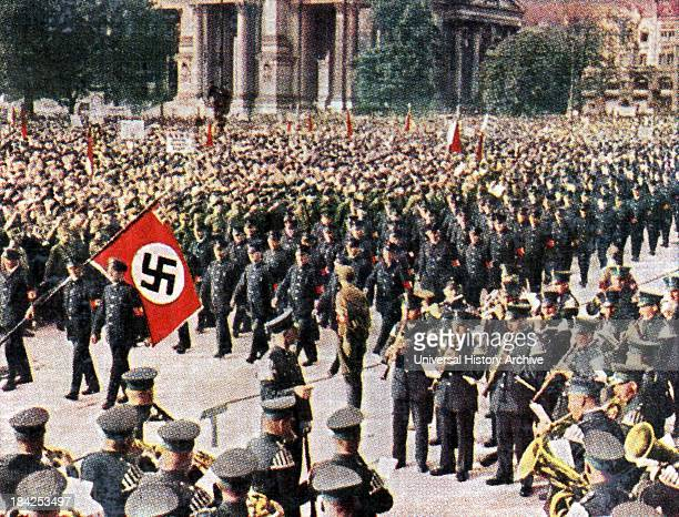 Nazi rally and march in Berlin 1933