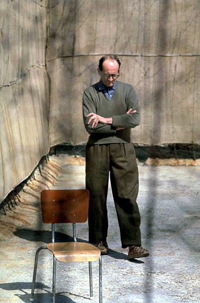 ISR: 11th April 1961 - Nazi War Criminal Adolf Eichmann on Trial