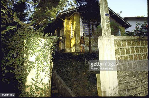 Nazi War Criminal Josef Mengele's house where he reportedly lived from 19731979