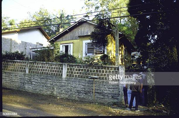 Nazi War Criminal Josef Mengele's house where he reportedly lived from 1973-1979.