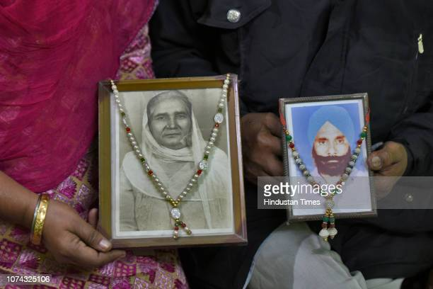Nazir Singh and his wife Manjeet Singh survivors of the 1984 Sikh massacre tell their stories after the Delhi High Court sentenced Congress leader...
