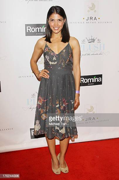 Nazneen Contractor arrives at the 2013 Plush Show held at the Hyatt Regency Century Plaza on June 9 2013 in Century City California