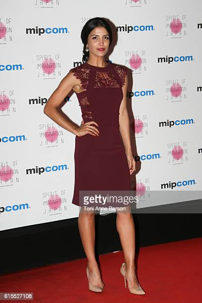 Nazneen Contractor attends MIPCOM Opening Party at Martinez Hotel on October 17 2016 in Cannes France