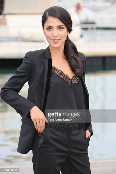 Nazneen Contractor attends Photocall for Ransom as part of MIPCOM at Palais des Festivals on October 17 2016 in Cannes France