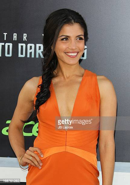 Nazneen Contractor attends the Los Angeles premiere of 'Star Trek Into Darkness' held at Dolby Theatre on May 14 2013 in Hollywood California