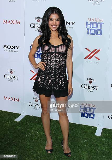 Nazneen Contractor attends the Maxim 2013 Hot 100 party held at Create on May 15 2013 in Hollywood California