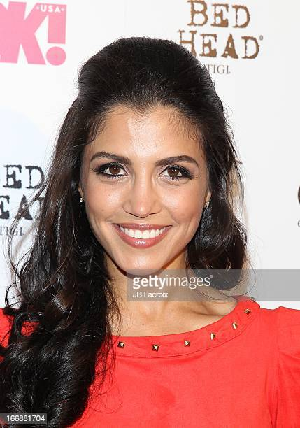 Nazneen Contractor attends the OK Magazine's So Sexy party at Mondrian Los Angeles on April 17 2013 in West Hollywood California