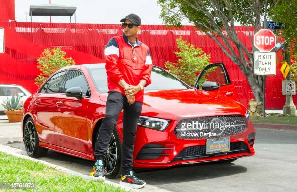 Nazz Travagant with the 2019 MercedesBenz A220 from MercedesBenz of Encino at Kids Against Animal Cruelty visits TAP The Artists Project on April 28...