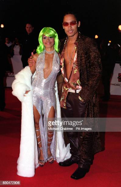 R'n'B artist and member of the American girl band TLC Lisa lefteye Lopes arrives to host the 5th MOBO awards at the Alexandra Palace in London