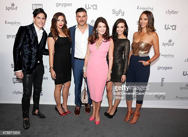 UPFRONT '2015 NBCUniversal Cable Entertainment Upfront at the Javits Center in New York City on Thursday May 14 2015' Pictured Tom Sandoval Katie...