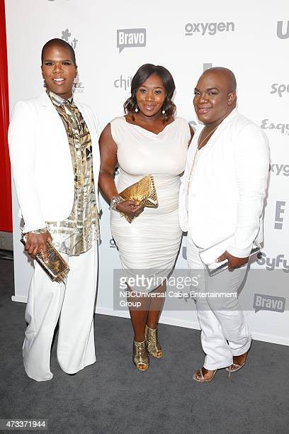 UPFRONT 2015 NBCUniversal Cable Entertainment Upfront at the Javits Center in New York City on Thursday May 14 2015 Pictured Ms Lawrence Bevy Smith...