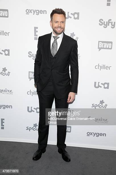 UPFRONT '2015 NBCUniversal Cable Entertainment Upfront at the Javits Center in New York City on Thursday May 14 2015' Pictured Joel McHale 'The Soup'...