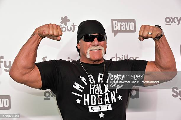 UPFRONT '2015 NBCUniversal Cable Entertainment Upfront at the Javits Center in New York City on Thursday May 14 2015' Pictured Hulk Hogan 'Tough...