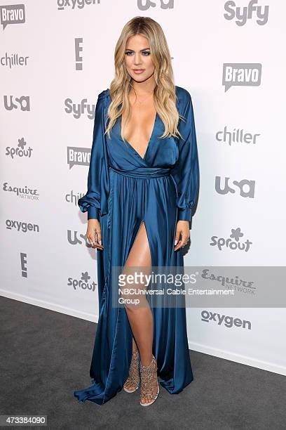 UPFRONT '2015 NBCUniversal Cable Entertainment Upfront at the Javits Center in New York City on Thursday May 14 2015' Pictured Khloe Kardashian...