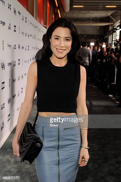 """NBCUniversal Cable Entertainment Upfront at the Javits Center in New York City on Thursday, May 15, 2014"""" -- Pictured: Jaime Murray, """"Defiance"""" --"""