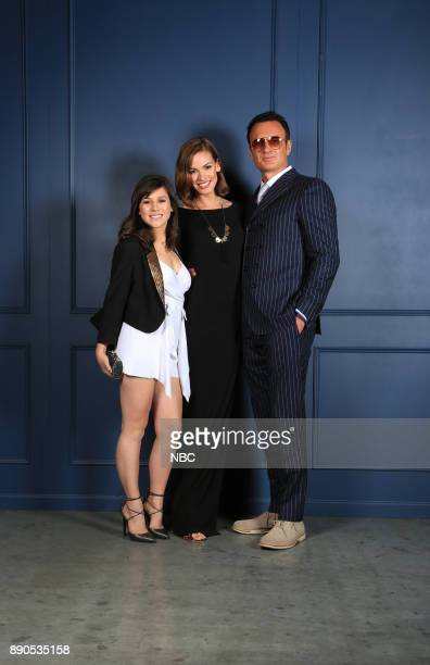 UPFRONT '2015 NBCUniversal Cable Entertainment Upfront at the Javits Center in New York City on Thursday May 14 2015' Pictured Yael Stone Julian...