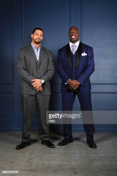 UPFRONT 2015 NBCUniversal Cable Entertainment Upfront at the Javits Center in New York City on Thursday May 14 2015 Pictured Roman Reigns Titus O'Neil