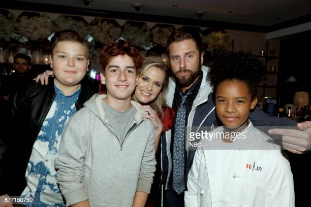 EVENTS NBCUniversal Holiday Kickoff Party at Beauty Essex in Los Angeles CA on Monday November 13 2017 Pictured Chef Milo Chef Owen Chef Rahanna 'Top...