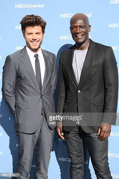 UPFRONT '2016 NBCUniversal NBCUNIVERSAL UPFRONT '2016 NBCUniversal Upfront in New York City on Monday May 16 2016' Pictured Francois Arnaud and Peter...