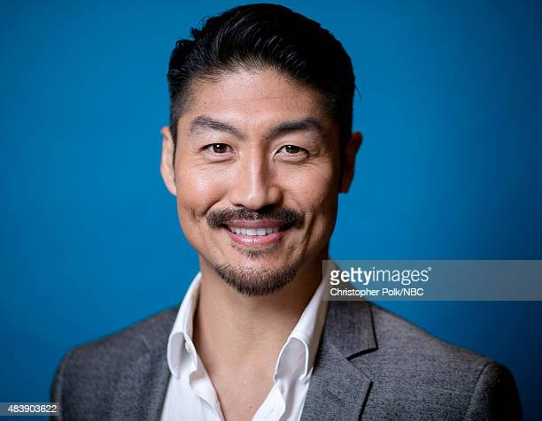 EVENTS NBCUniversal Portrait Studio August 2015 Pictured Actor Brian Tee from Chicago Med poses for a portrait at the NBCUniversal Summer Press Day...