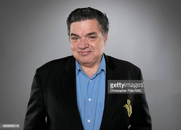 EVENTS NBCUniversal Portrait Studio August 2015 Pictured Actor Oliver Platt from Chicago Med poses for a portrait at the NBCUniversal Summer Press...