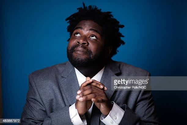EVENTS NBCUniversal Portrait Studio August 2015 Pictured Actor Ron Funches from Undateable poses for a portrait at the NBCUniversal Summer Press Day...
