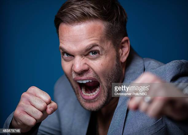EVENTS NBCUniversal Portrait Studio August 2015 Pictured Actor Wes Chatham from The Expanse poses for a portrait at the NBCUniversal Summer Press Day...
