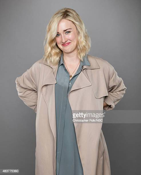 EVENTS NBCUniversal Portrait Studio August 2015 Pictured Actress Ashley Johnson from Blindspot poses for a portrait at the NBCUniversal Summer Press...