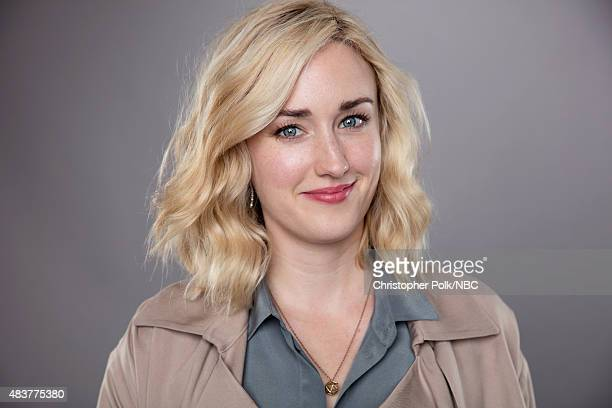 """NBCUniversal Portrait Studio, August 2015 -- Pictured: Actress Ashley Johnson from """"Blindspot"""" poses for a portrait at the NBCUniversal Summer Press..."""
