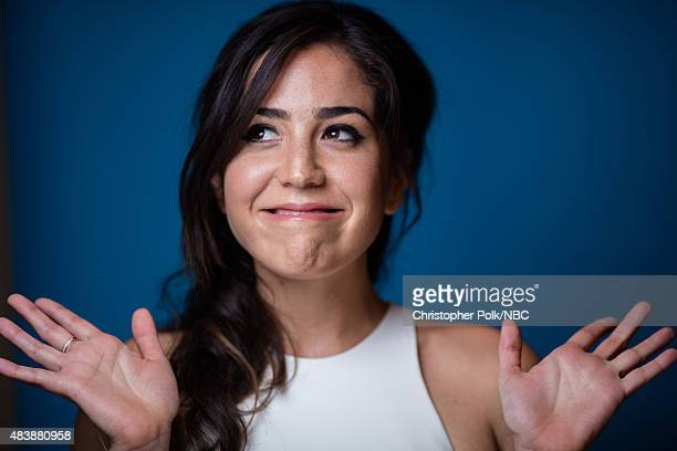EVENTS NBCUniversal Portrait Studio August 2015 Pictured Actress Audrey Esparza from Blindspot poses for a portrait at the NBCUniversal Summer Press...