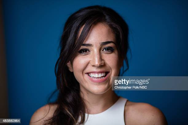 "NBCUniversal Portrait Studio, August 2015 -- Pictured: Actress Audrey Esparza from ""Blindspot"" poses for a portrait at the NBCUniversal Summer Press..."