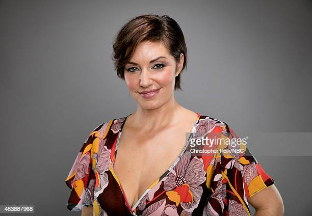EVENTS NBCUniversal Portrait Studio August 2015 Pictured Actress Bianca Kajlich from Undateable poses for a portrait at the NBCUniversal Summer Press...