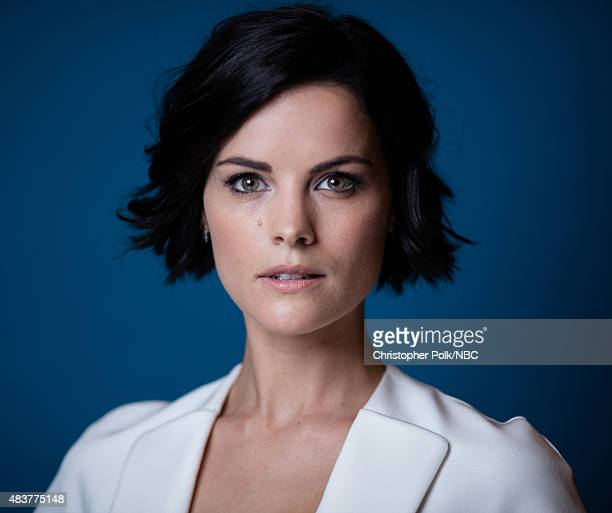 EVENTS NBCUniversal Portrait Studio August 2015 Pictured Actress Jaimie Alexander from 'Blindspot' poses for a portrait at the NBCUniversal Summer...