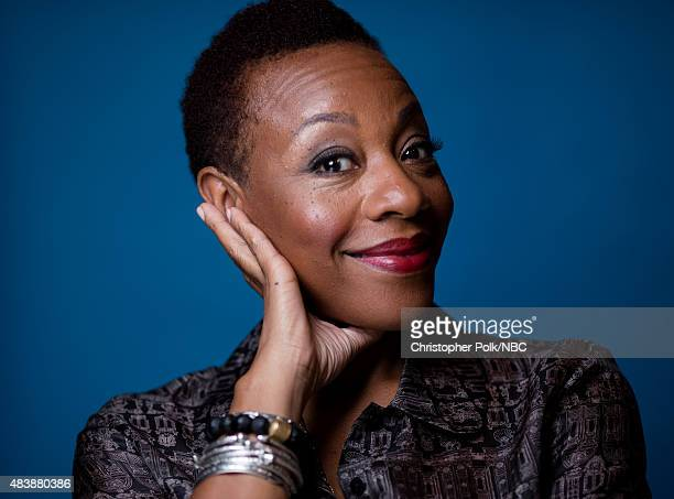 EVENTS NBCUniversal Portrait Studio August 2015 Pictured Actress Marianne JeanBaptiste from Blindspot poses for a portrait at the NBCUniversal Summer...