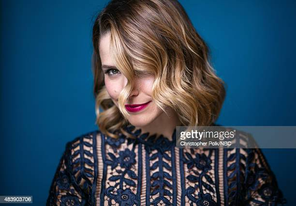 EVENTS NBCUniversal Portrait Studio August 2015 Pictured Actress Sophia Bush from Chicago PD poses for a portrait at the NBCUniversal Summer Press...