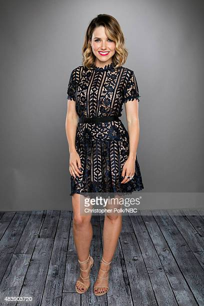 EVENTS NBCUniversal Portrait Studio August 2015 Pictured Actress Sophia Bush from 'Chicago PD' poses for a portrait at the NBCUniversal Summer Press...
