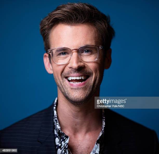 EVENTS NBCUniversal Portrait Studio August 2015 Pictured TV personality Brad Goreski from Fashion Police poses for a portrait at the NBCUniversal...