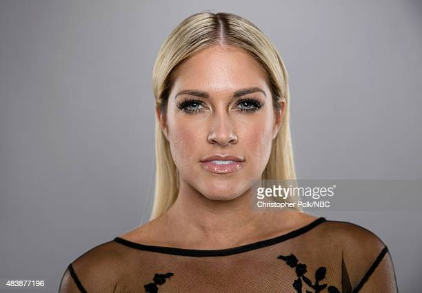 EVENTS NBCUniversal Portrait Studio August 2015 Pictured TV personality Barbie Blank from WAGS poses for a portrait at the NBCUniversal Summer Press...