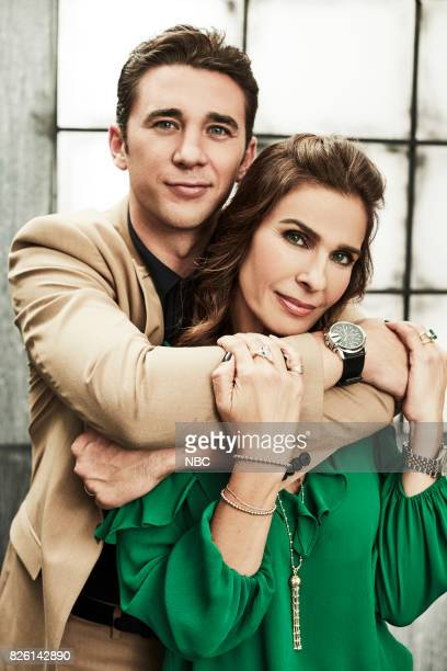 EVENTS NBCUniversal Portrait Studio August 2017 Pictured Billy Flynn Kristian Alfonso Days of Our Lives