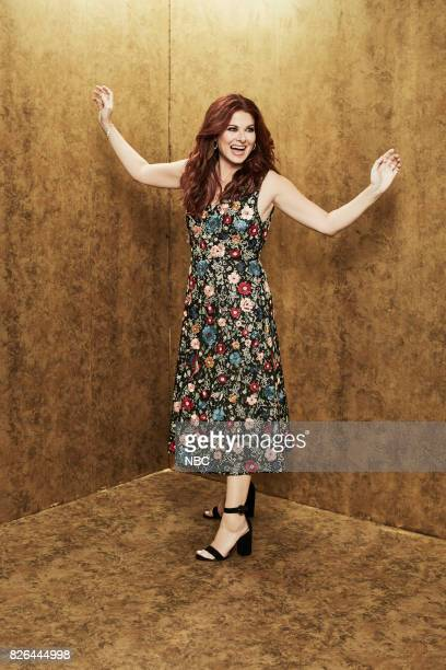 EVENTS NBCUniversal Portrait Studio August 2017 Pictured Debra Messing Will Grace