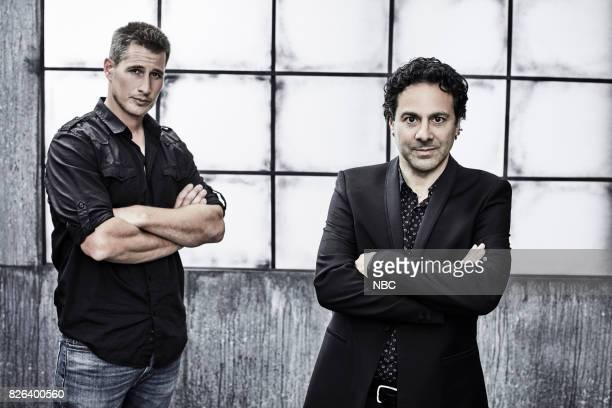 EVENTS NBCUniversal Portrait Studio August 2017 Pictured Gabe Sachs Brendan Fehr 'The Night Shift'