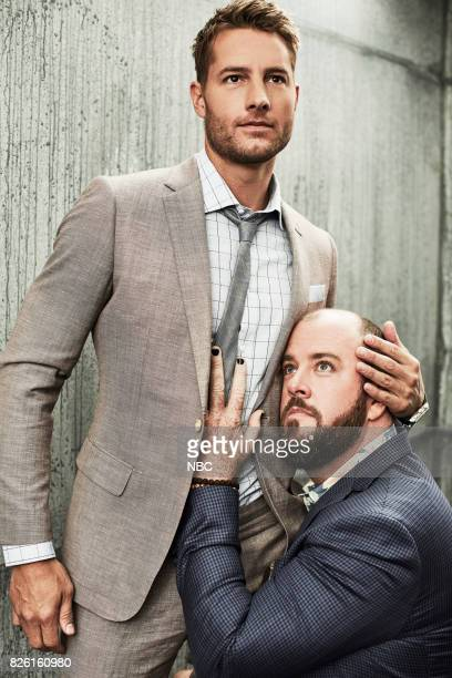 EVENTS NBCUniversal Portrait Studio August 2017 Pictured Justin Hartley and Chris Sullivan 'This Is Us'