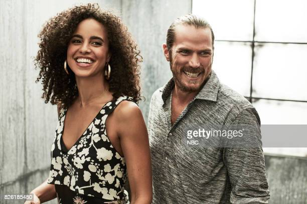 EVENTS NBCUniversal Portrait Studio August 2017 Pictured Parisa FitzHenley Jason Lewis 'Midnight Texas'