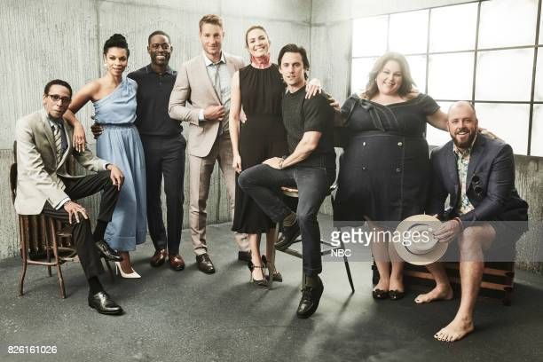 EVENTS NBCUniversal Portrait Studio August 2017 Pictured Ron Cephas Jones Susan Kelechi Watson Sterling K Brown Chrissy Metz Mandy Moore Milo...