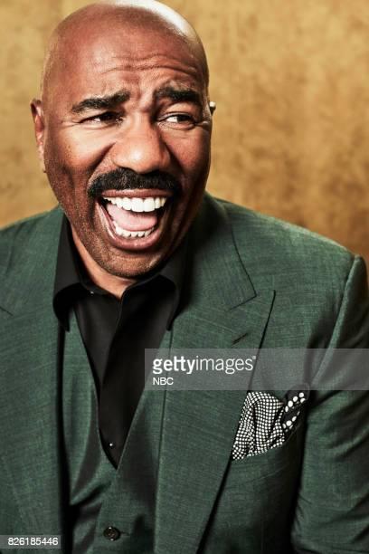 EVENTS NBCUniversal Portrait Studio August 2017 Pictured Steve Harvey 'STEVE'