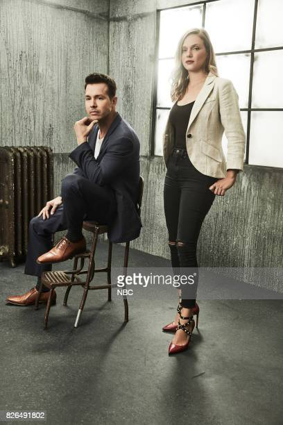 EVENTS NBCUniversal Portrait Studio August 2017 Pictured Tracy Spiridakos Jon Seda 'Chicago PD'