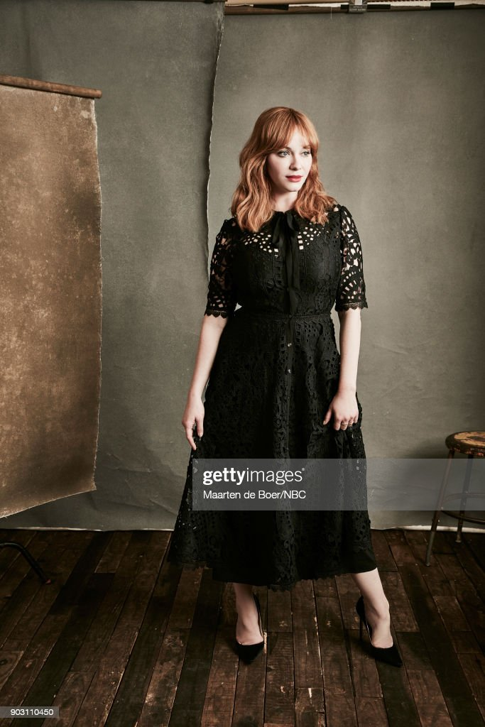 EVENTS -- NBCUniversal Portrait Studio, January 2018 -- Pictured: Christina Hendricks, 'Good Girls' --